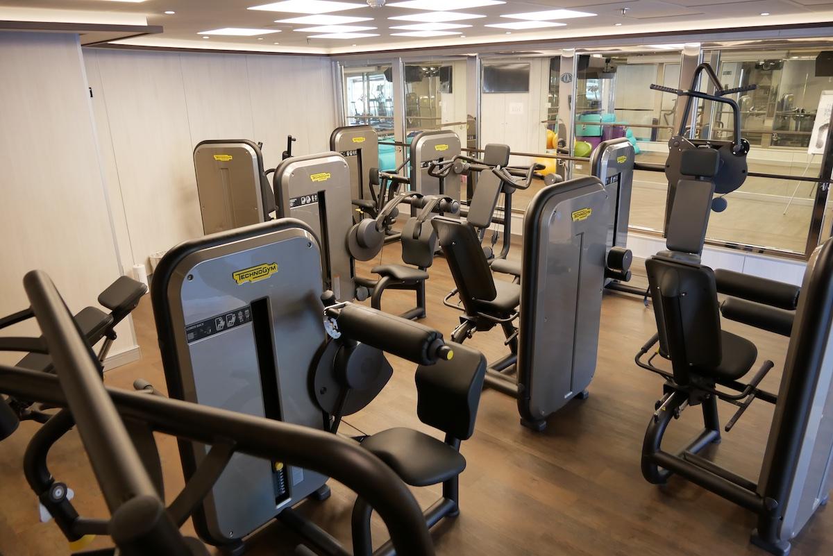 TechnoGym equipment in Fitness Center