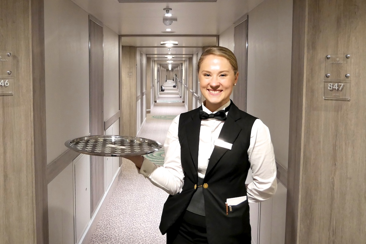 Hayley, our excellent butler