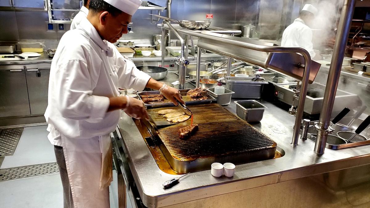 Open Kitchen at Sette Mari