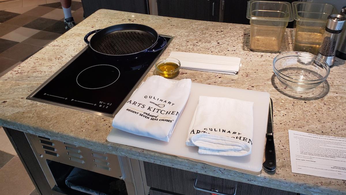 Culinary Arts Kitchen | Seven Seas Explorer | CruiseReport