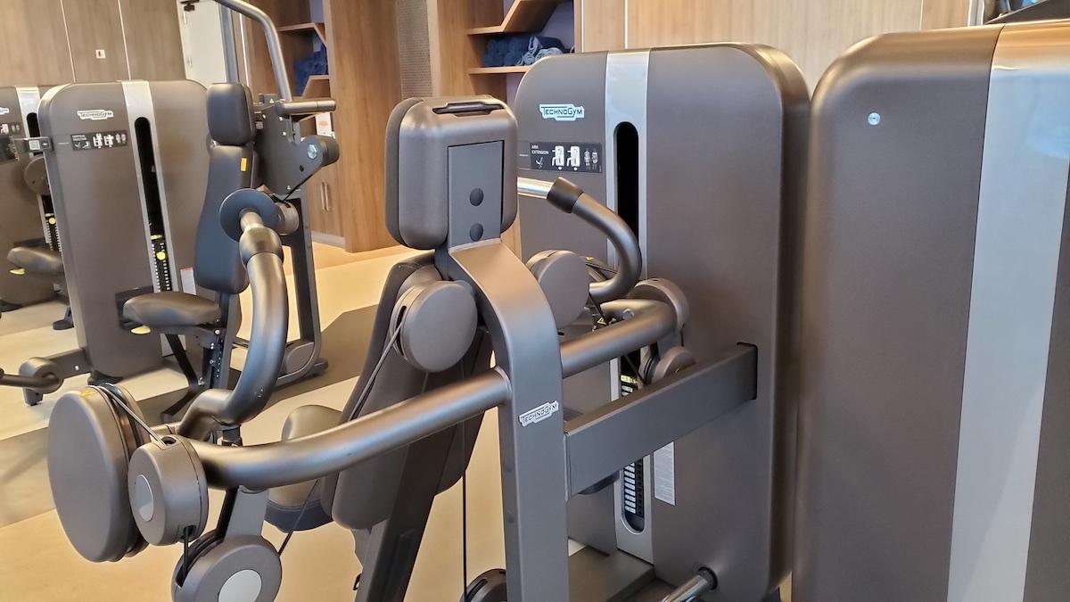 TechnoGym weight machines
