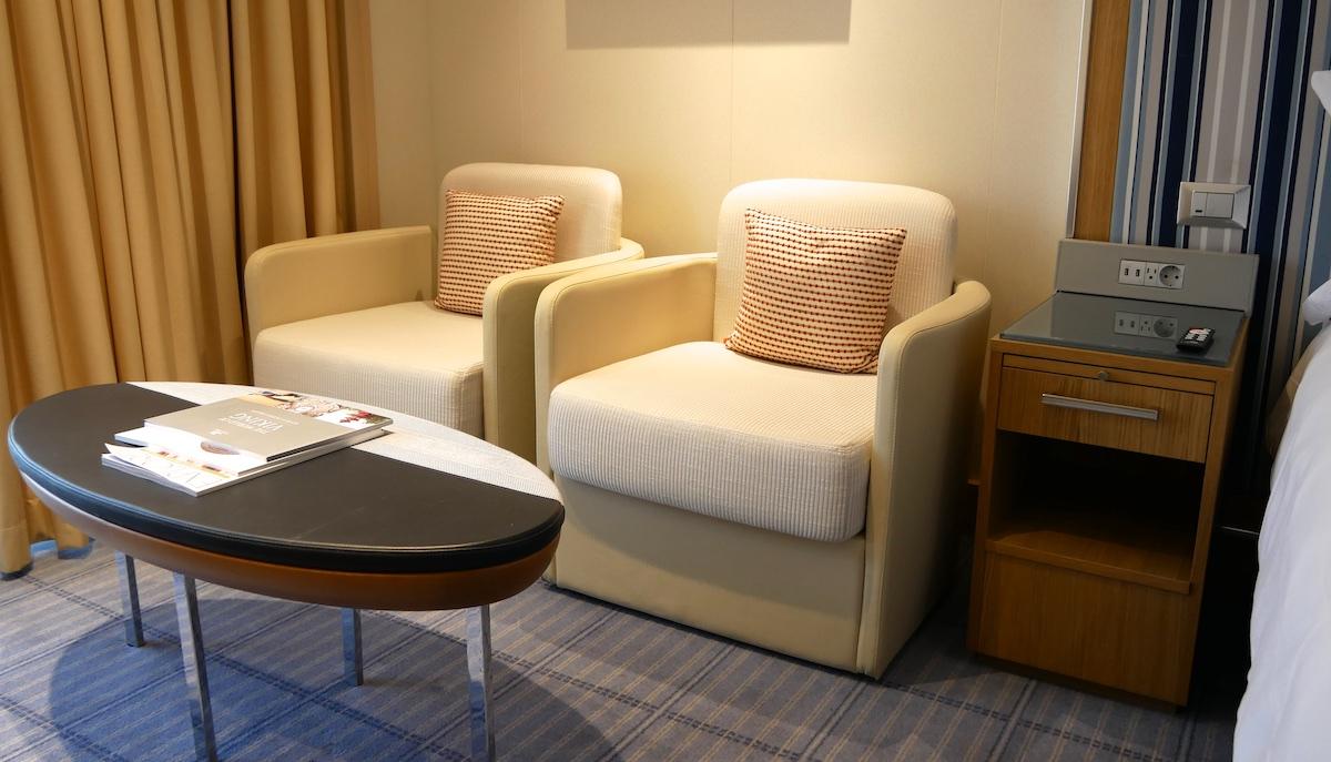 Seating area | Viking Sky | CruiseReport
