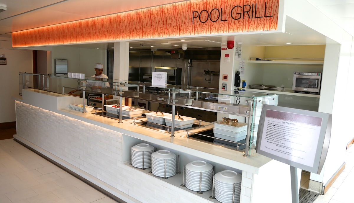 The Pool Grill | Viking Sky | CruiseReport