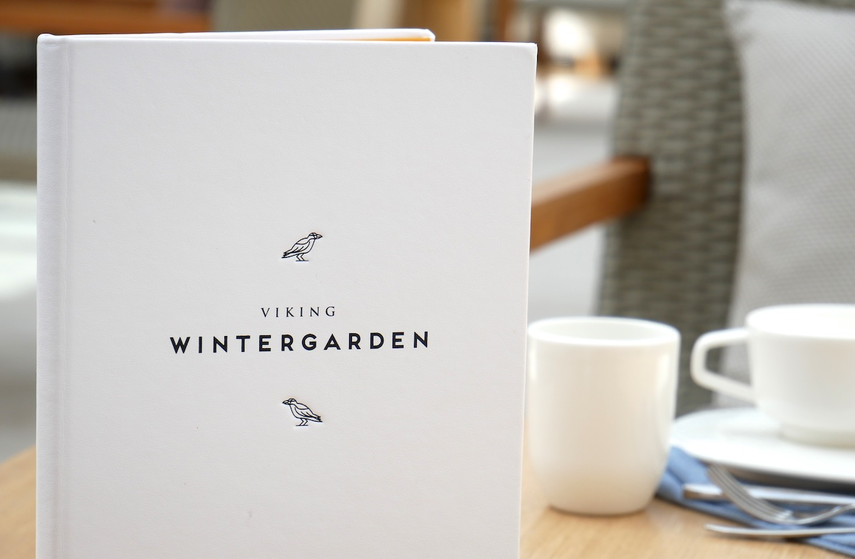 Afternoon Tea at Wintergarden | Viking Sky | CruiseReport