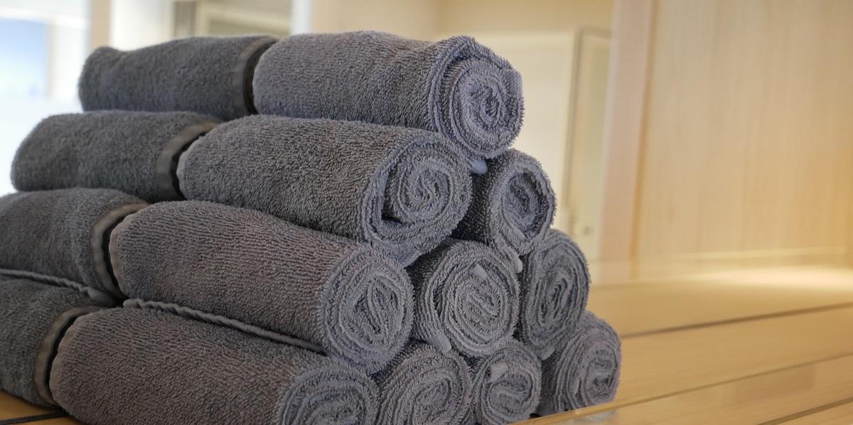 Liv Nordic Spa Towels | Viking Sky | CruiseReport