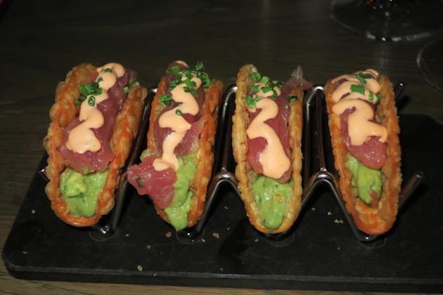 Del Frisco's Ahi Tuna Appetizer