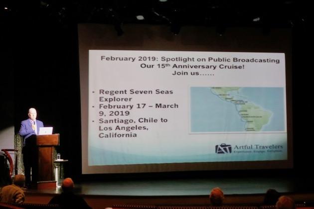Kevin Corcoran, President of Artful Travelers