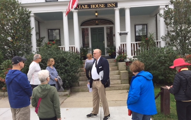 Walking tour of historic Newport RI