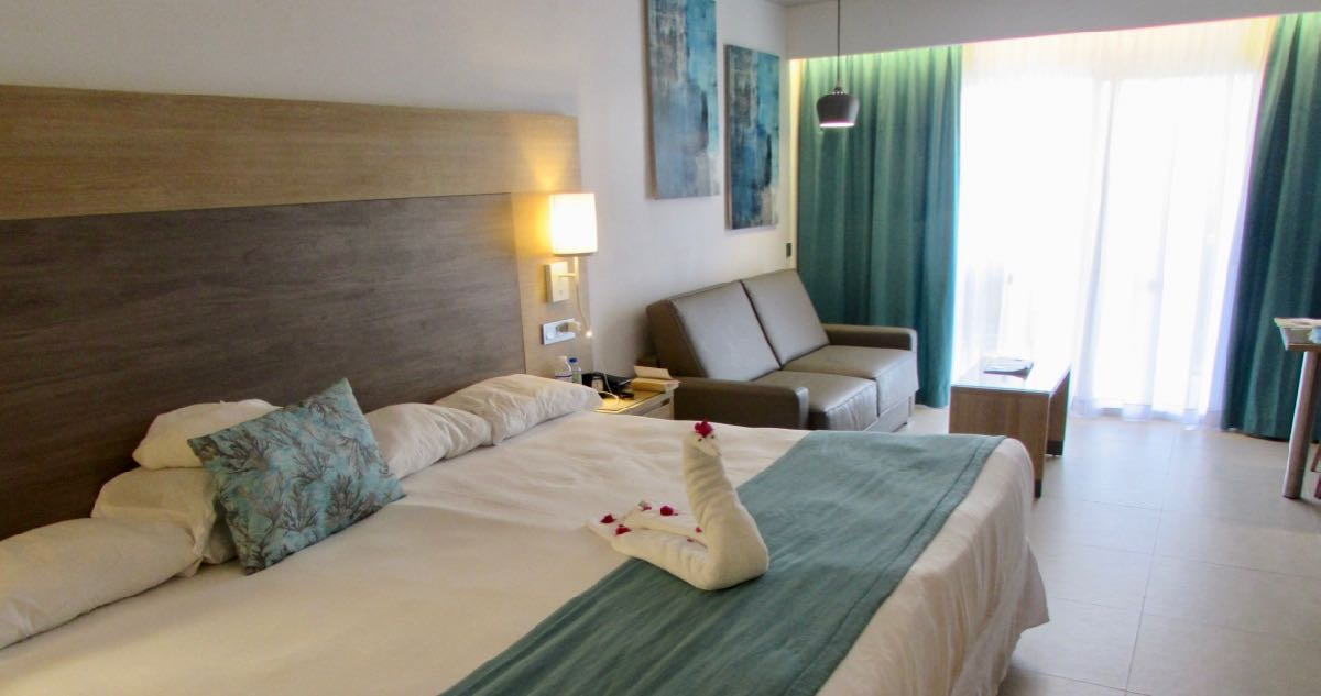 All rooms at Riu Palace were renovated in 2018.