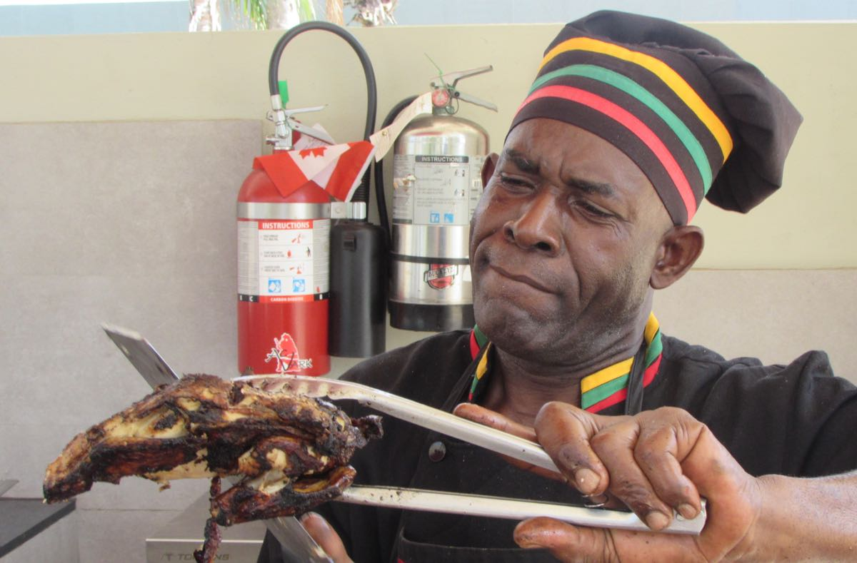 Jolly, the Jerk Chicken Man.