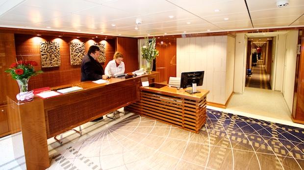 Registration Desk   Viking River Cruises   Viking Alruna   CruiseReport