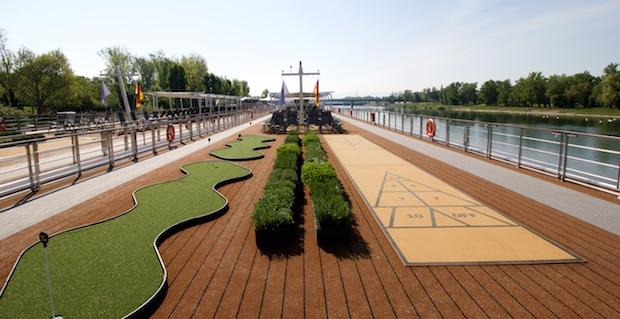 Sun Deck   Viking River Cruises   Viking Alruna   CruiseReport