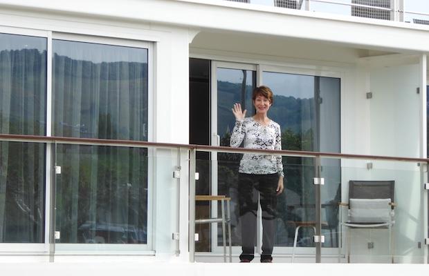Balconies   Viking River Cruises   Viking Alruna   CruiseReport