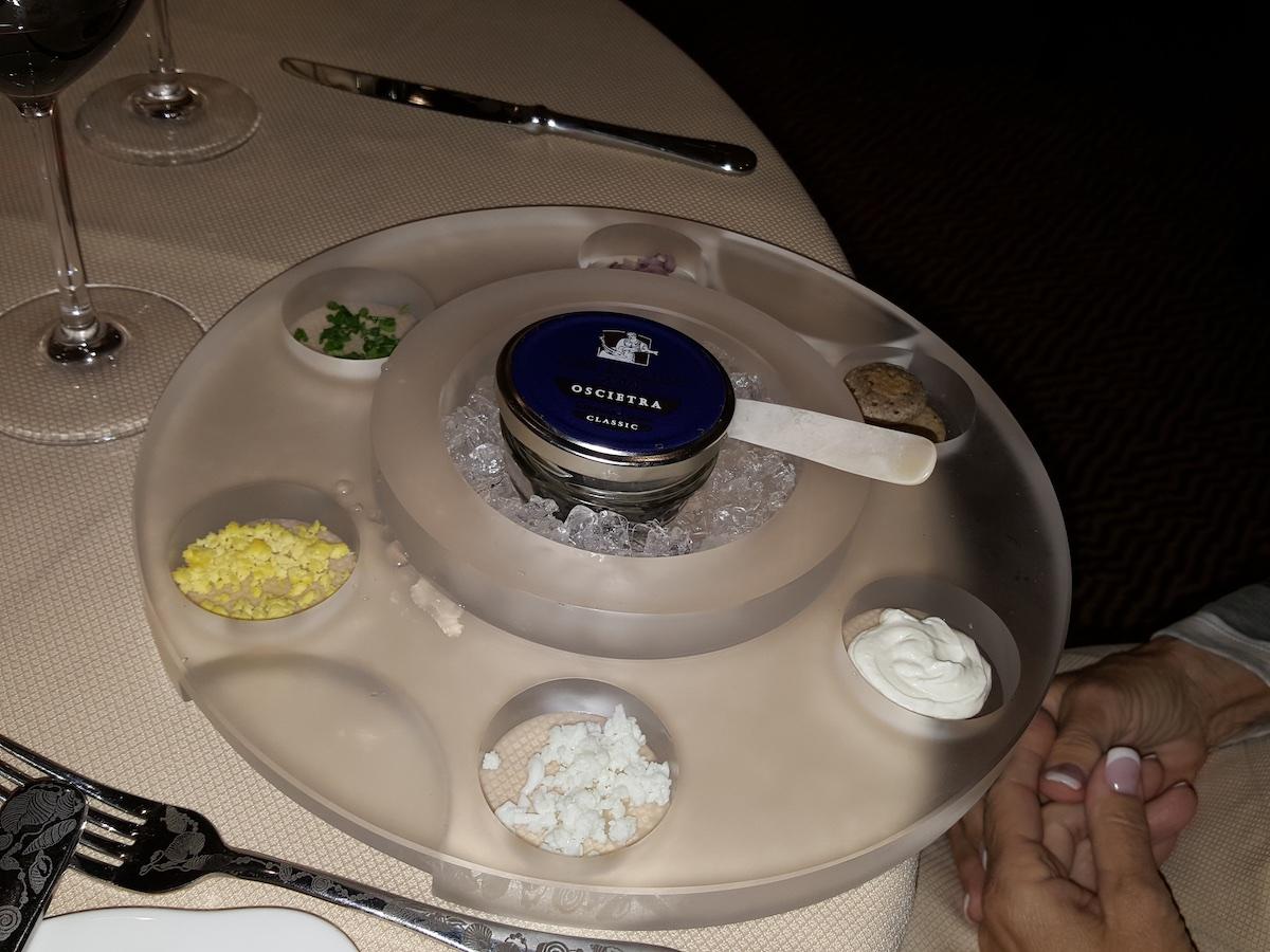 Caviar at Atlantide | Silversea Silver Spirit | CruiseReport.jpg