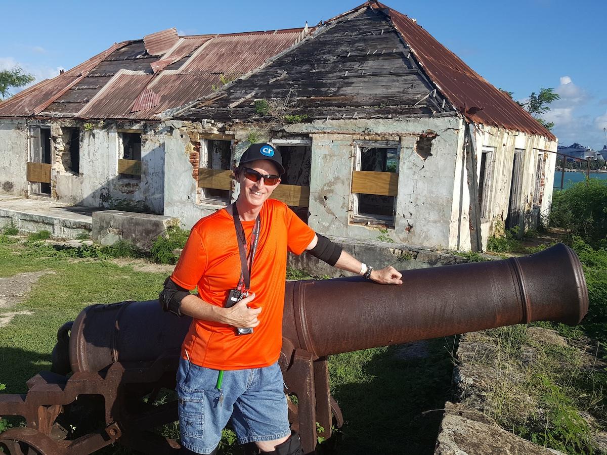 Chris Dikmen in Antigua | Silversea Silver Spirit | CruiseReport.jpg