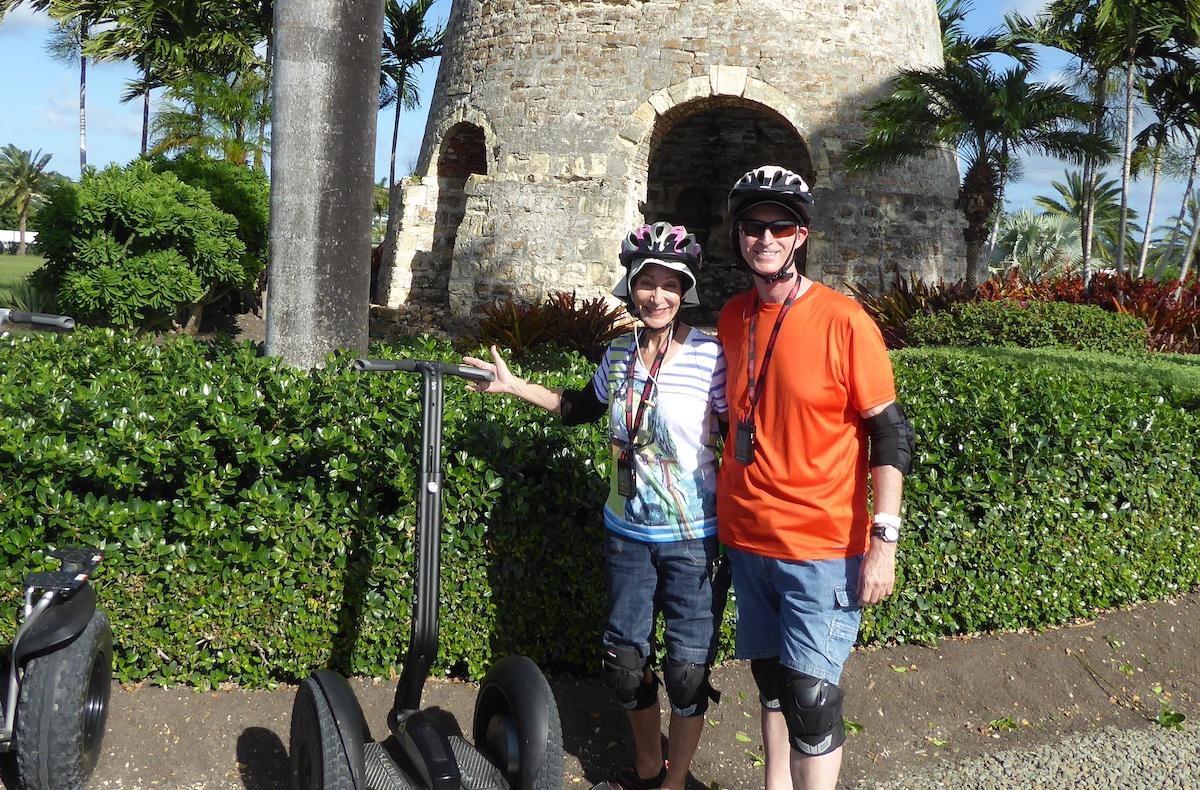 Rickee Richardson and Chris Dikmen in Antigua | Silversea Silver Spirit | CruiseReport.jpg