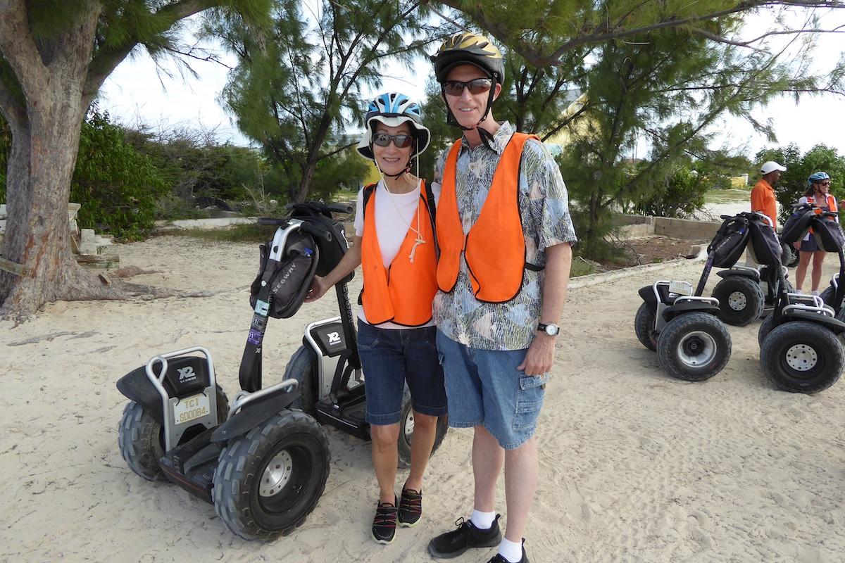 Rickee Richardson and Chris Dikmen in Grand Turk | Silversea Silver Spirit | CruiseReport.jpg