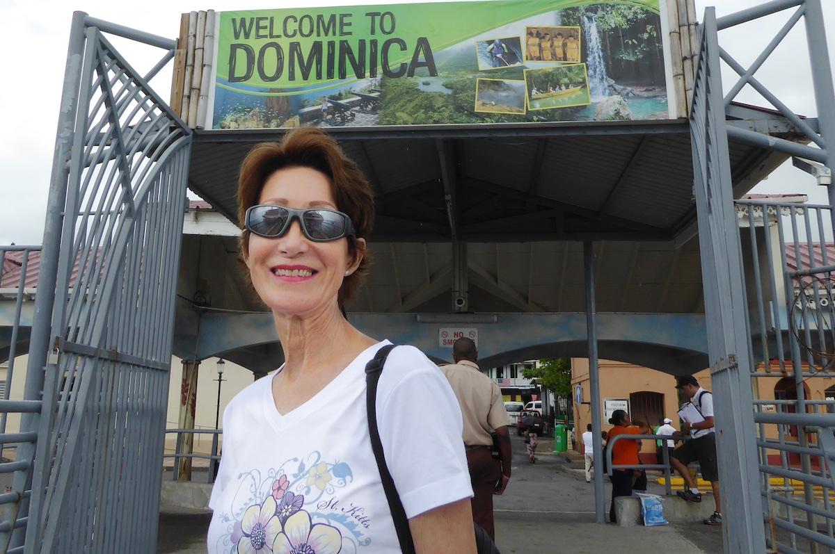 Rickee Richardson in Dominica | Silversea Silver Spirit | CruiseReport.jpg