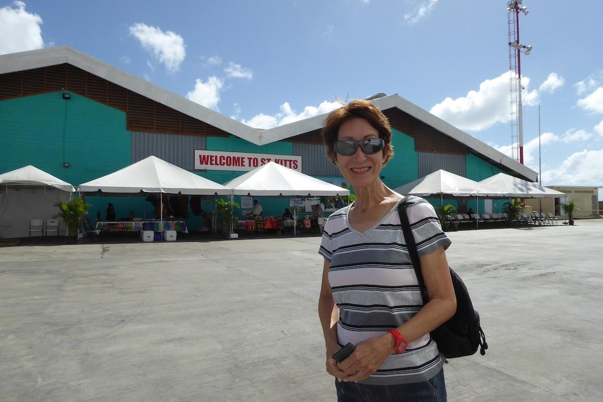 Rickee Richardson in St. Kitts | Silversea Silver Spirit | CruiseReport.jpg