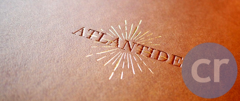 Atlantide menu cover | Silversea Silver Muse | CruiseReport