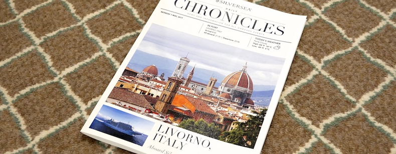Silversea Daily Chronicles