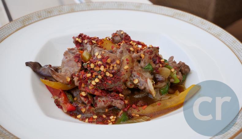Thai beef stir-fry (extra spicy)