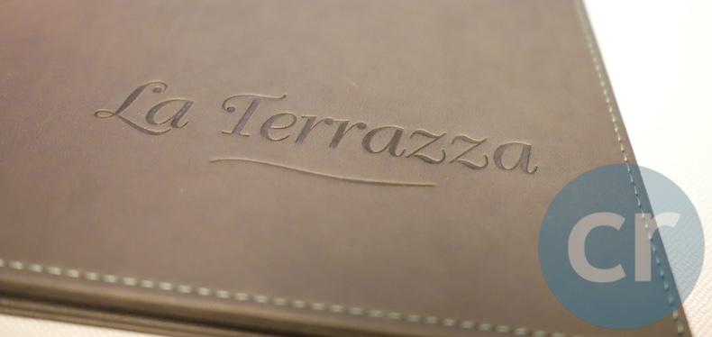 Menu cover at La Terrazza | Silversea Silver Muse | CruiseReport