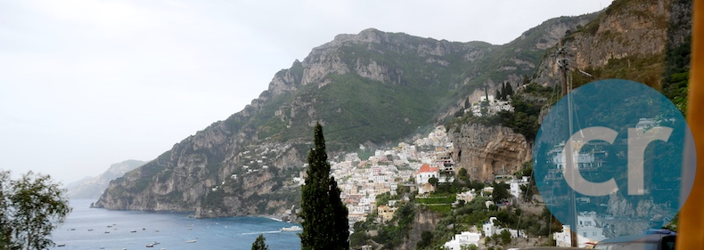 On the road to Positano
