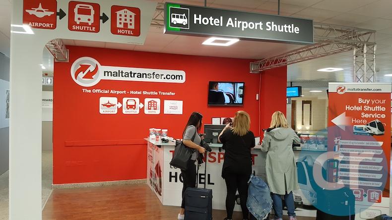 Transportation information in Malta International Airport