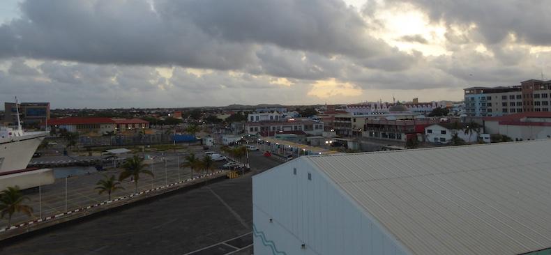 Star Pride docks in Oranjestad, Aruba