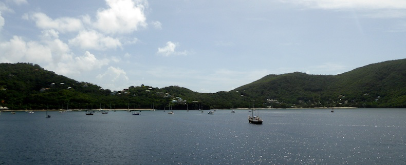 The island of Bequia