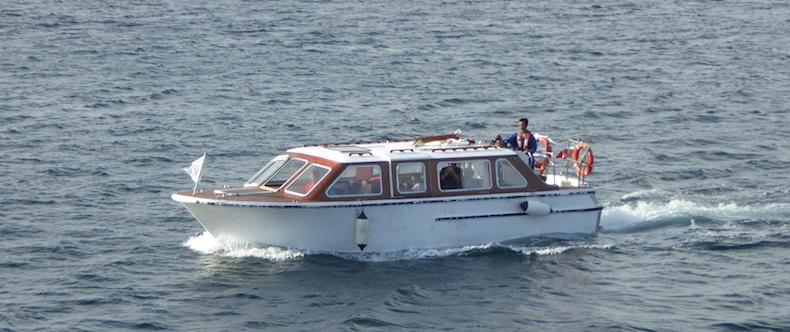Windstar Star Pride tender boat