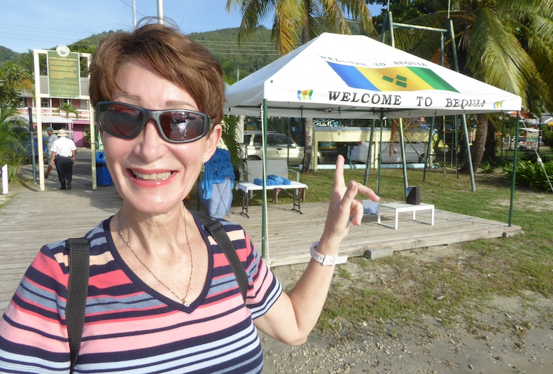Our first visit to Bequia