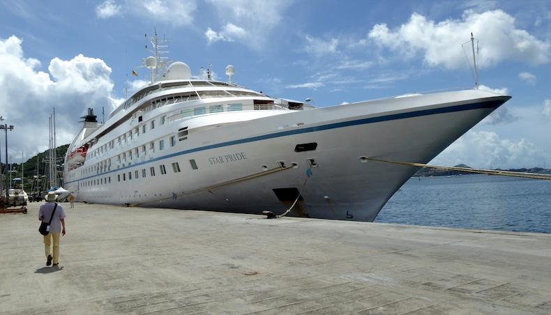 Star Pride docked in St. George's, Grenada