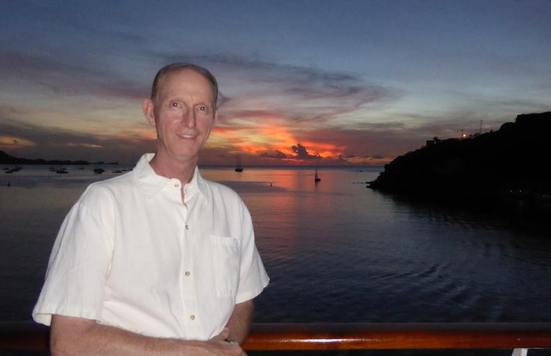 Chris at sunset