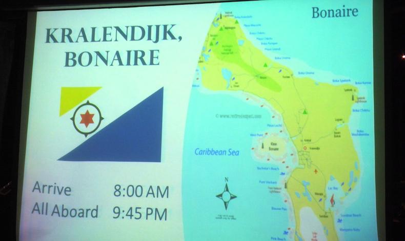 Slide show provides valuable local port information