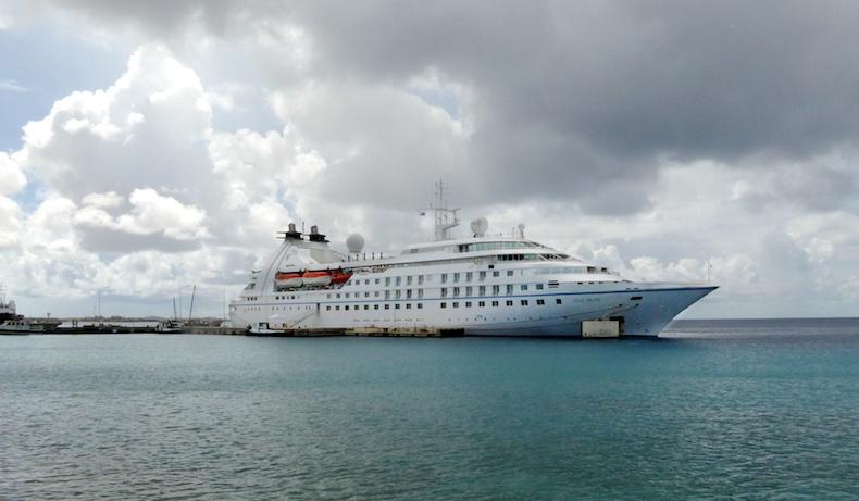 Star Pride docked in Kralendijk, Bonaire