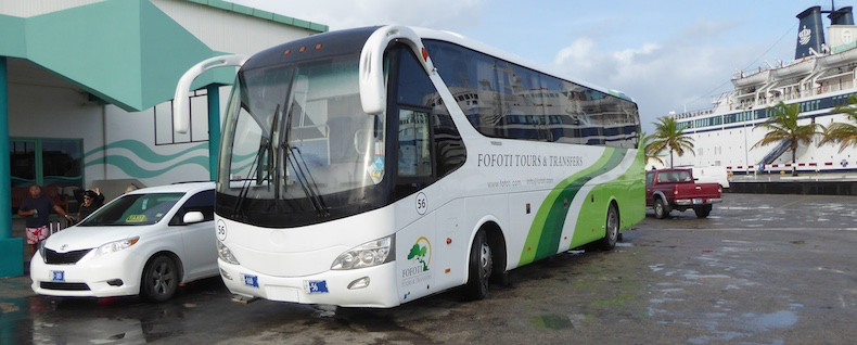 Motor coach transfer to hotels