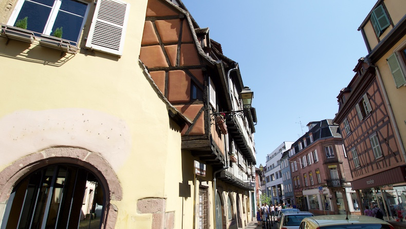 Colmar's half-timbered houses date back to the 13th century