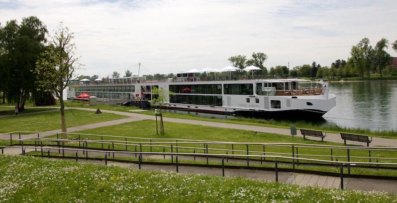 Viking Alruna docked in Kehl, Germany