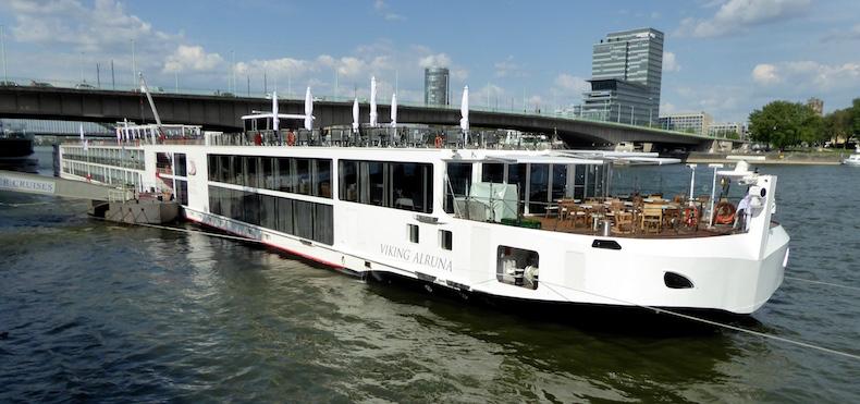 Viking Alruna docked in Cologne, Germany