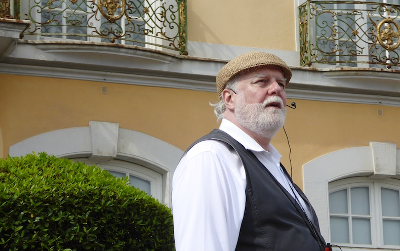 Phillip, our local tour guide for the Brühl palaces