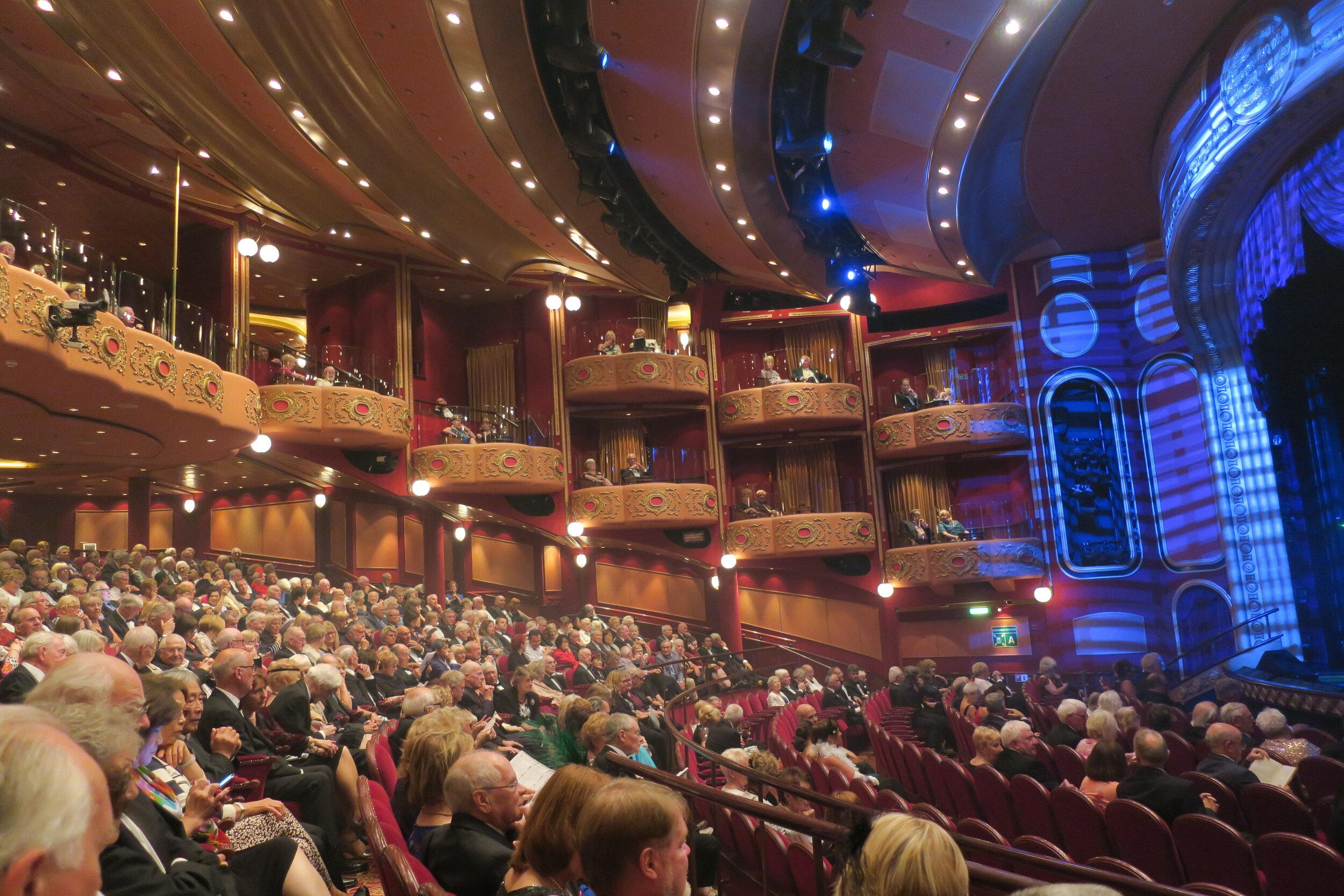 Theatre. 16 Boxes