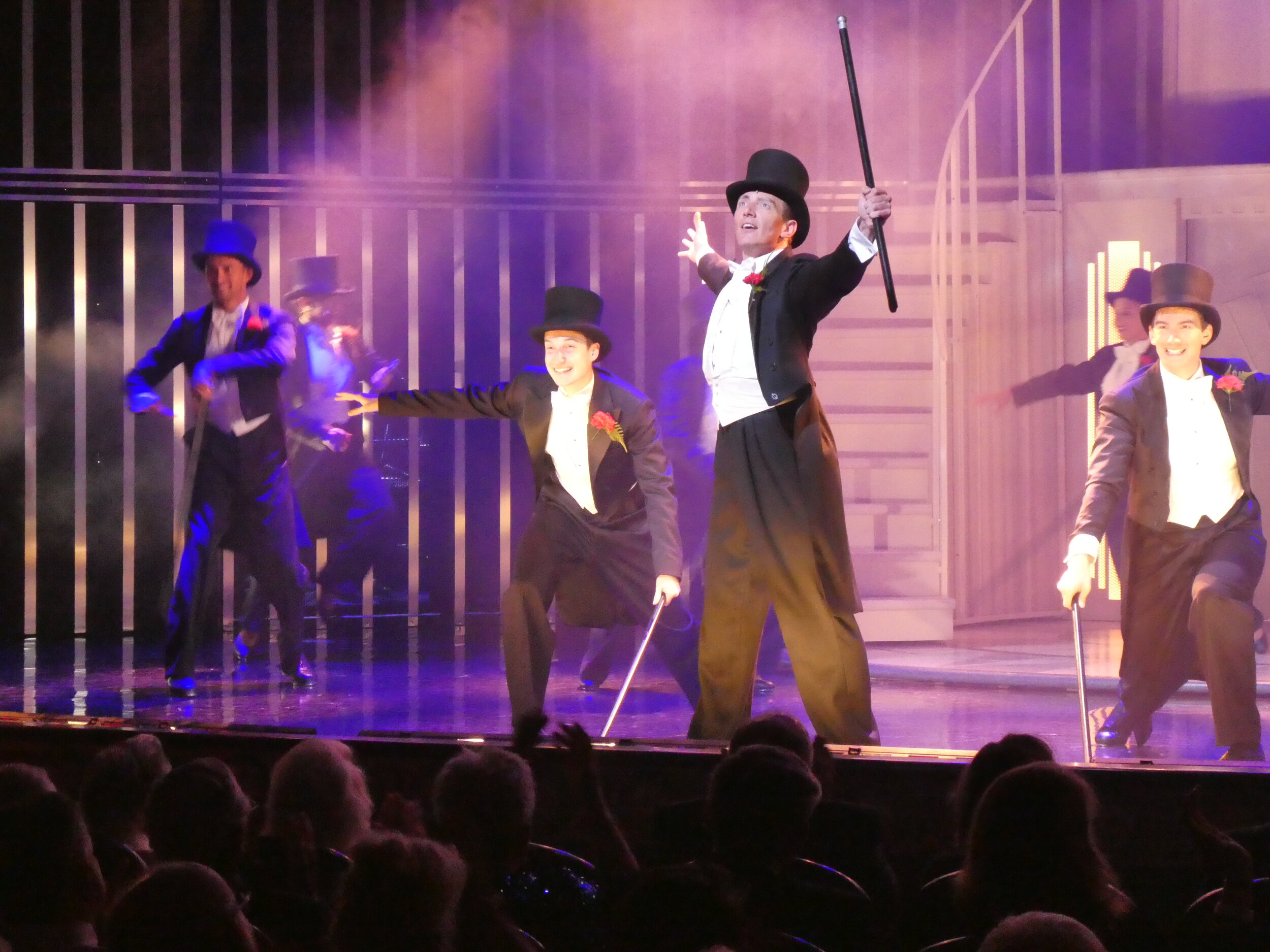 Top Hat. Exciting new production