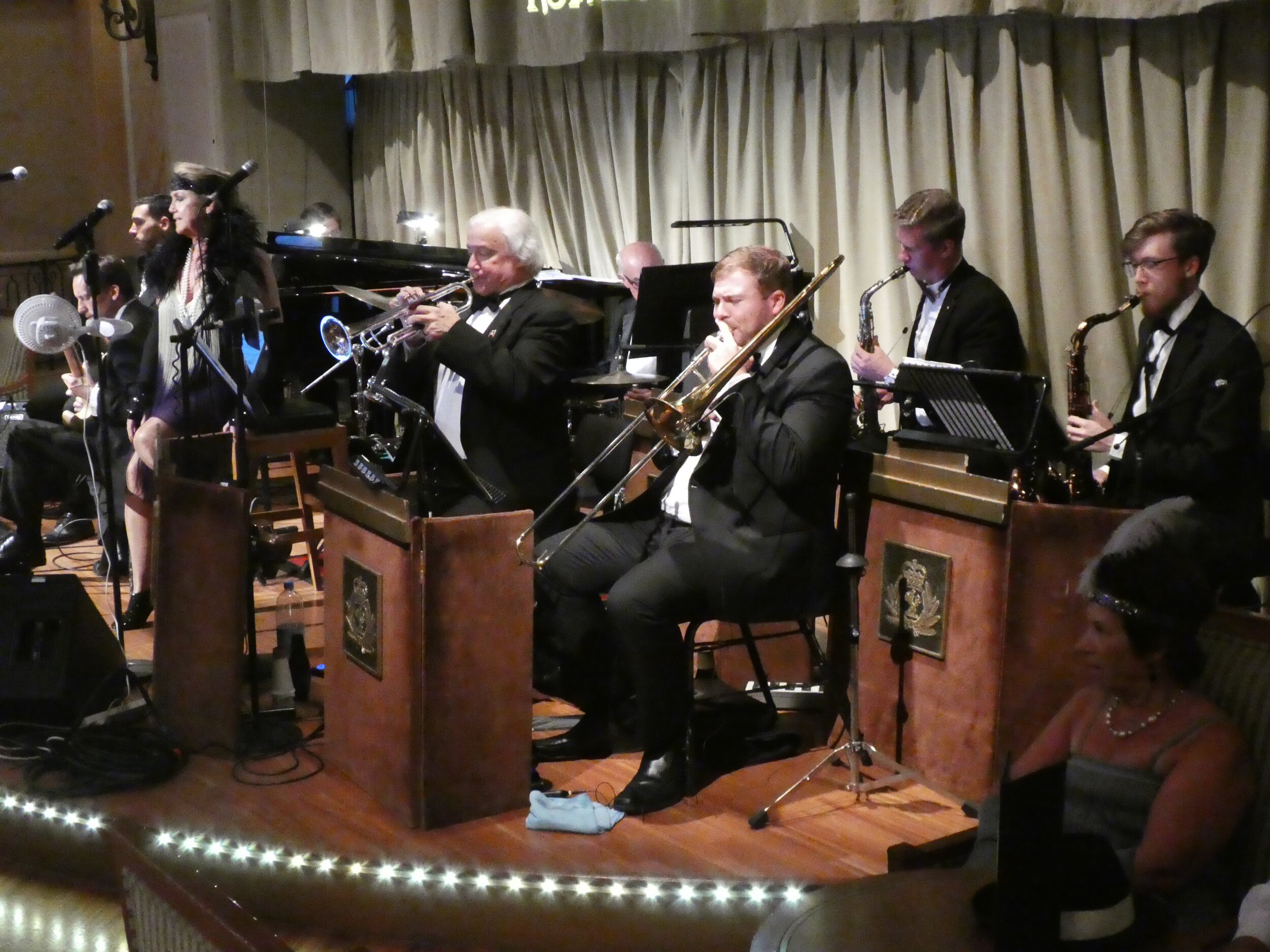 Big Bands in two venues