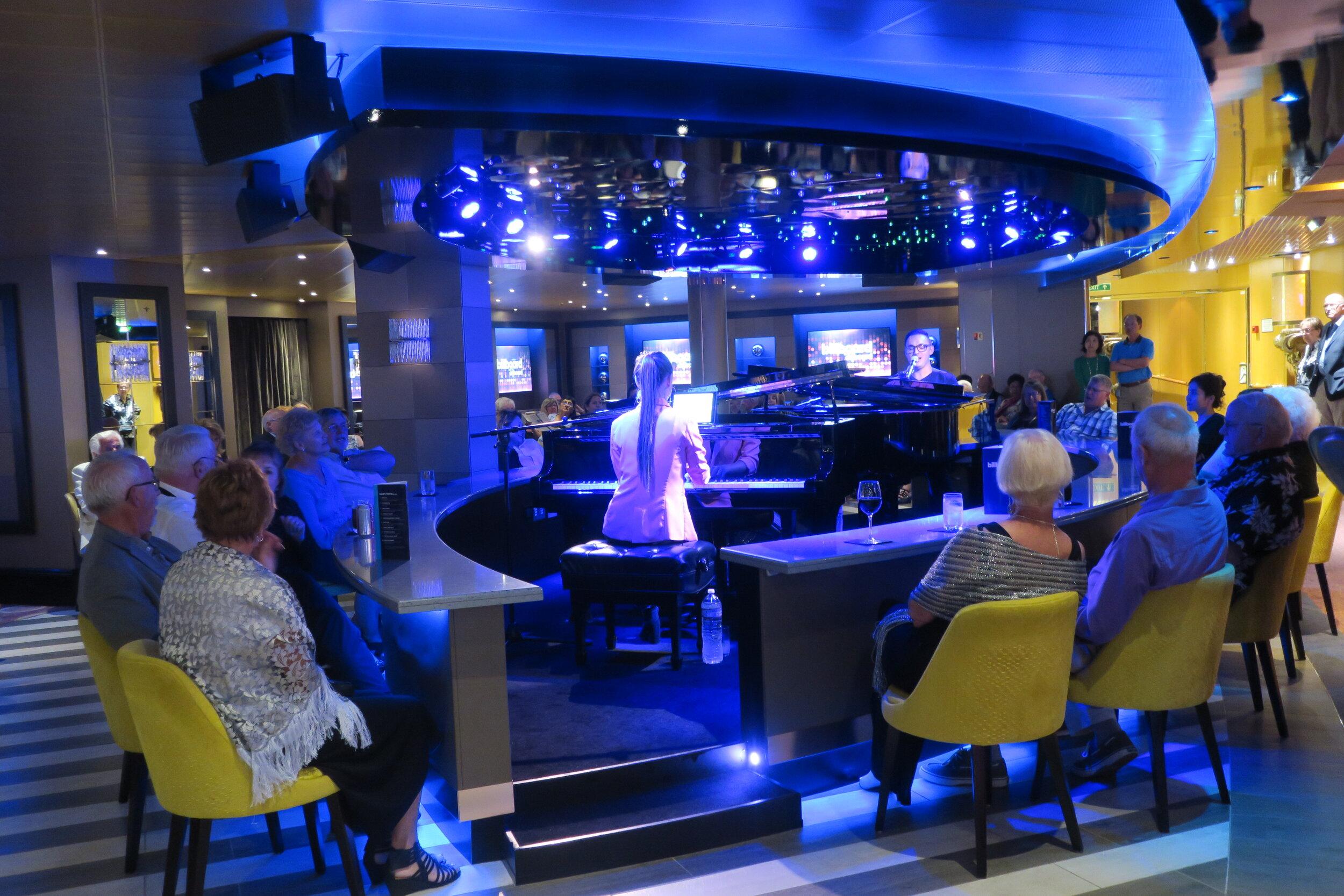 Twin Pianos at Billboard Onboard.