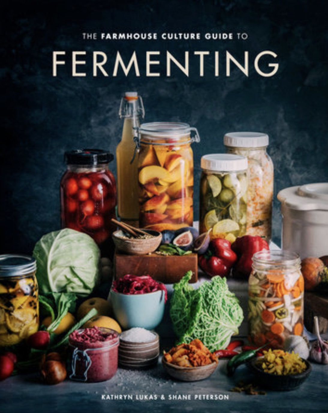 "Sharing Our Expertise - Introducing ""The Farmhouse Culture Guide to Fermenting,"" by Kathryn Lukas and co-author Shane Peterson. Featuring over 100 fermented food and beverage recipes, we're proud to share an exciting glimpse into the culture that drives us.FIND IT ON:Amazon 