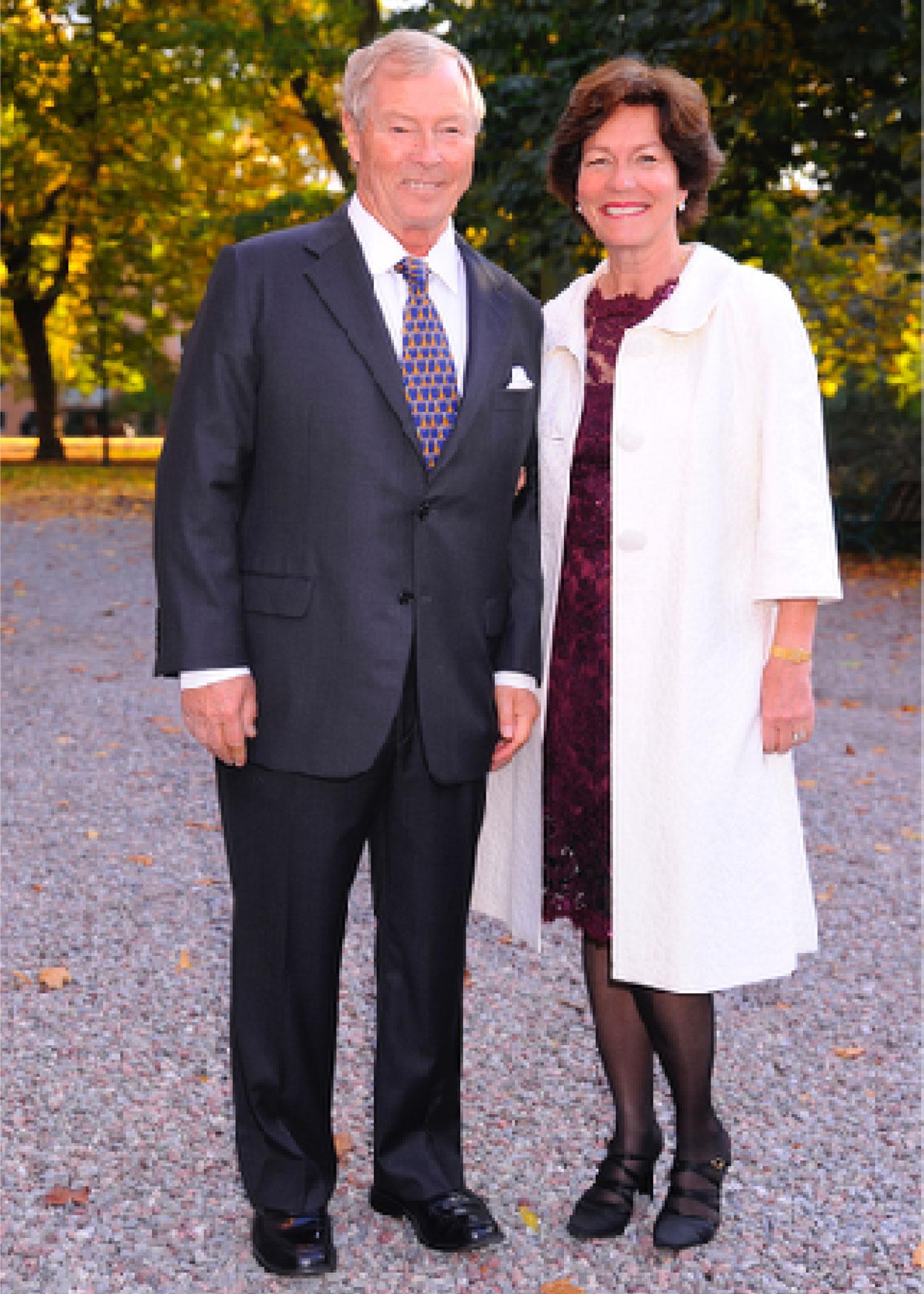 Christian och Marianne Bernadotte The patron of the festival
