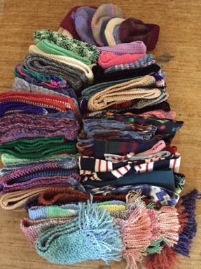 15 scarves and 4 hats to TOAST, ASH Pine Hills & Delaware Comm Schoold.jpg