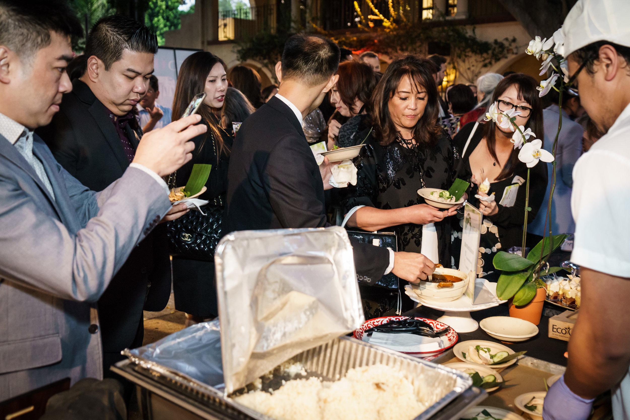 2017 Gala - Food Tasting